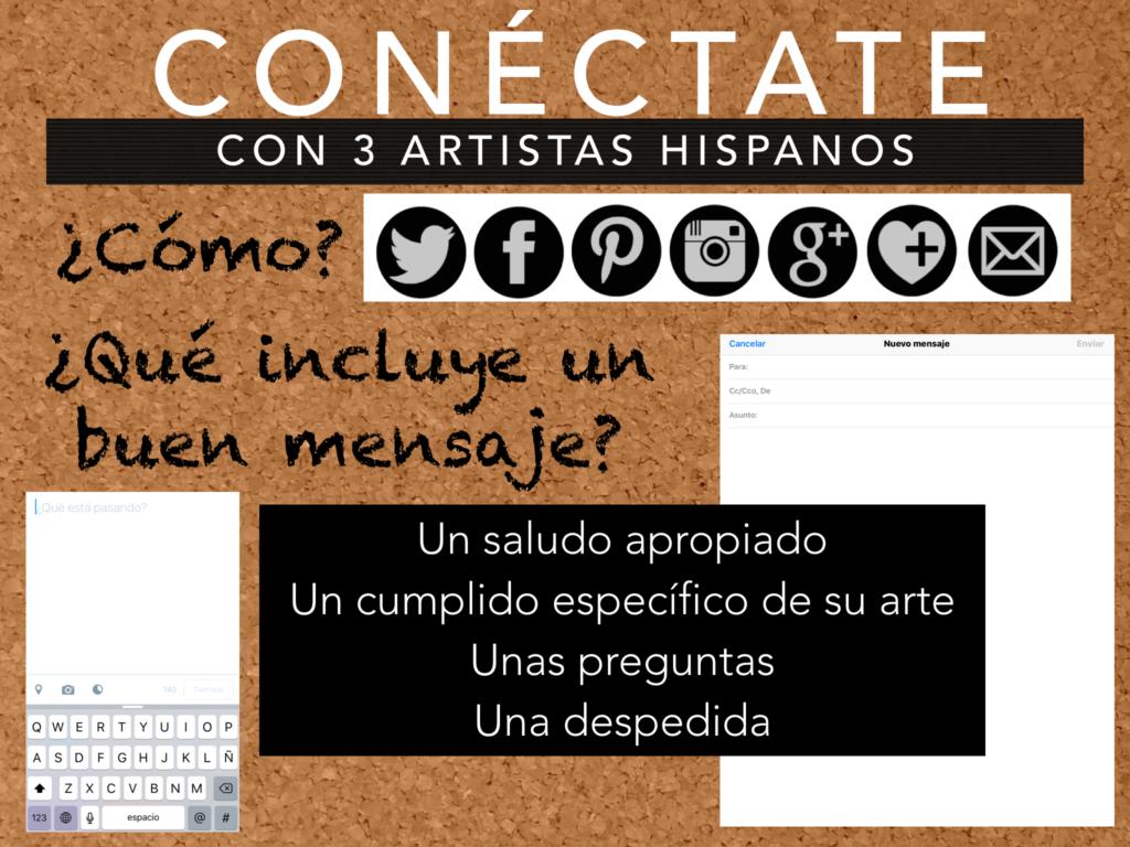 contact an artist